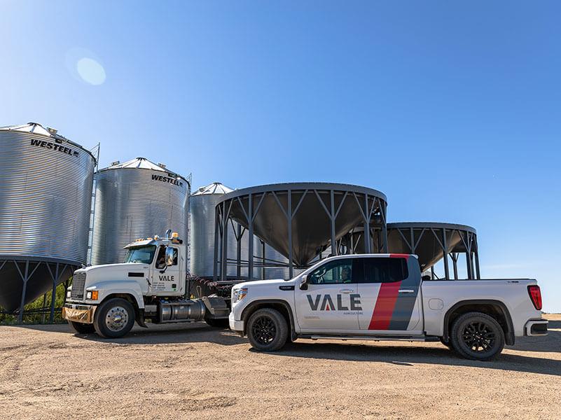 Vale hopper cones for farm storage