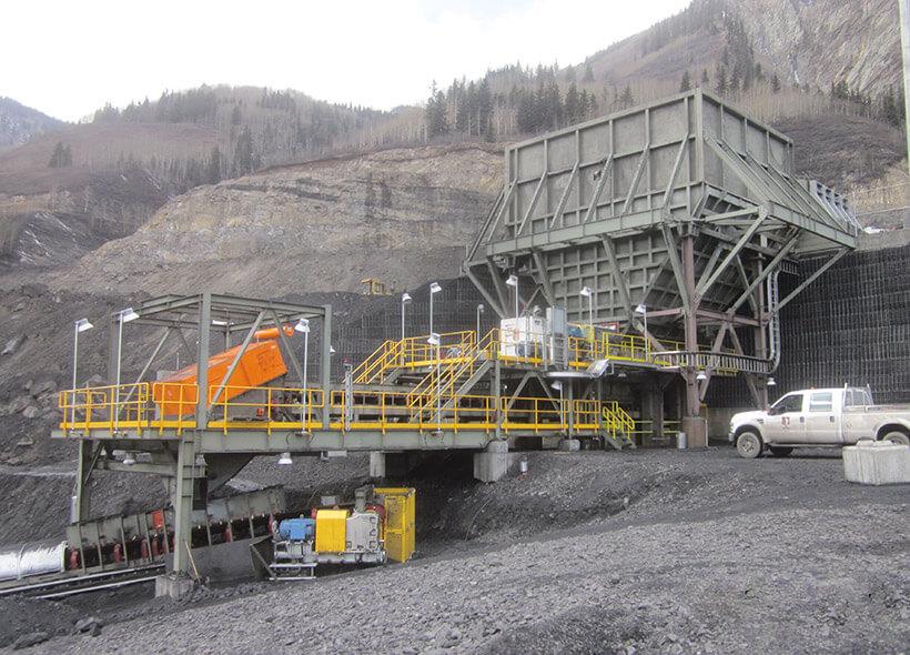 custom stationary crushing plant for mining quarry
